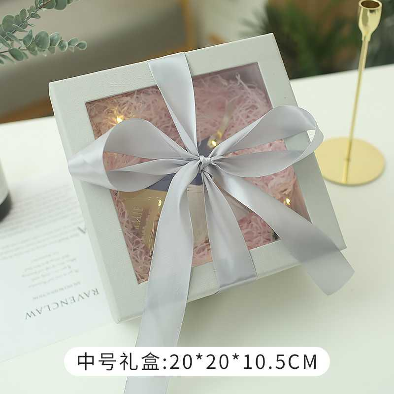 Oversized gift box two weeks anniversary gift box gift clothes mothers Day companion cosmetics box cover box number empty