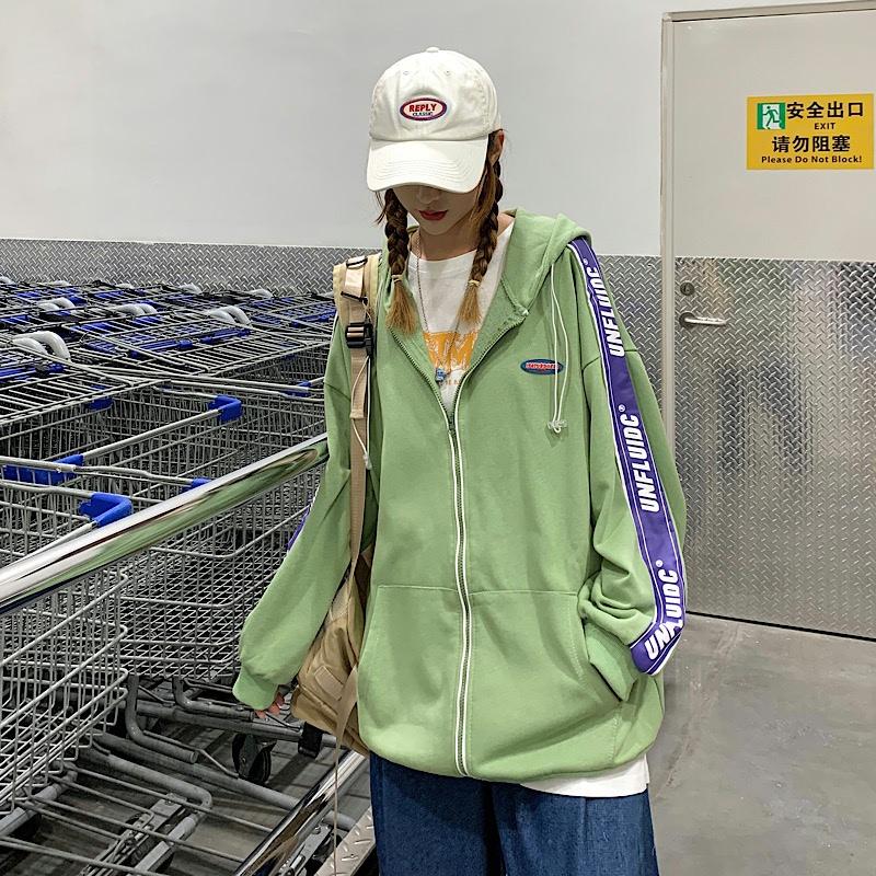 情�H�b�B【帽�\�永��外套秋款�_衫�l衣W8233-P48女�