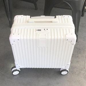 迷你行李箱小型拉杆女轻便旅行18寸皮登机密码箱子小号ins网红20