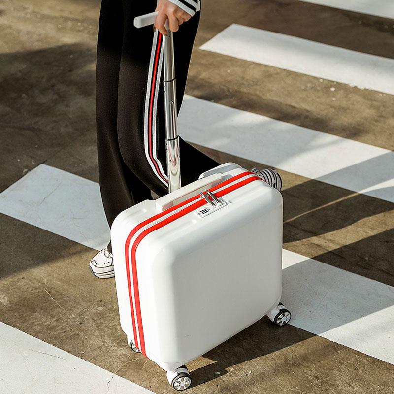 迷你行李箱女小型密码轻便小号18寸旅行拉杆箱子男20网红ins抖音