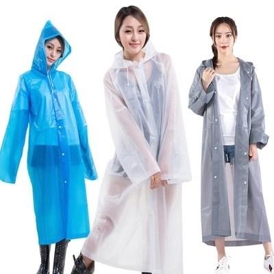 户外用行军训骑男女雨衣,徒步雨衣登山。防水旅行加厚雨衣高中生