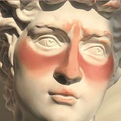 欧洲腮红胭脂自然浓妆欧美风眼影粉饼单色盘哑光橘色土豆泥吃土。
