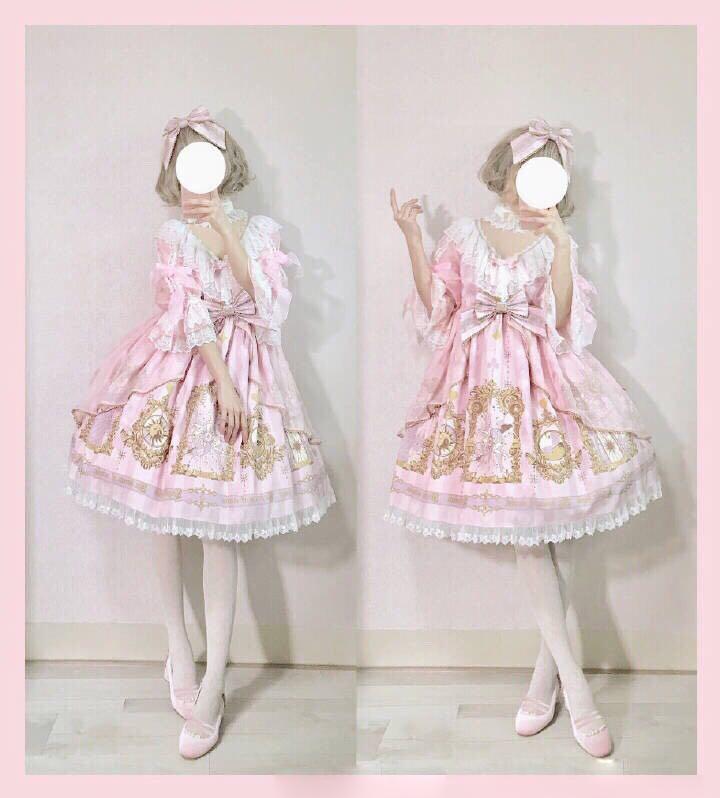 原创学生洛丽塔儿童装学生女童Lolita宝宝连衣裙全套装女孩洛丽塔