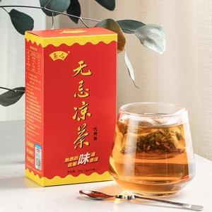 菊花决明子仙草养生茶无忌凉茶