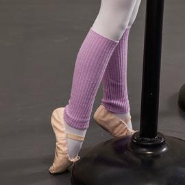 护具芭蕾舞护腿sansha法国三沙女童保暖针织袜子儿童腿袜套舞蹈图片