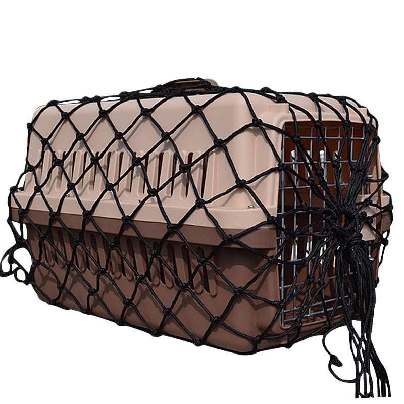 宠物航空箱防护网兜航空箱托运专用网兜宠物箱外安全网运输托运网