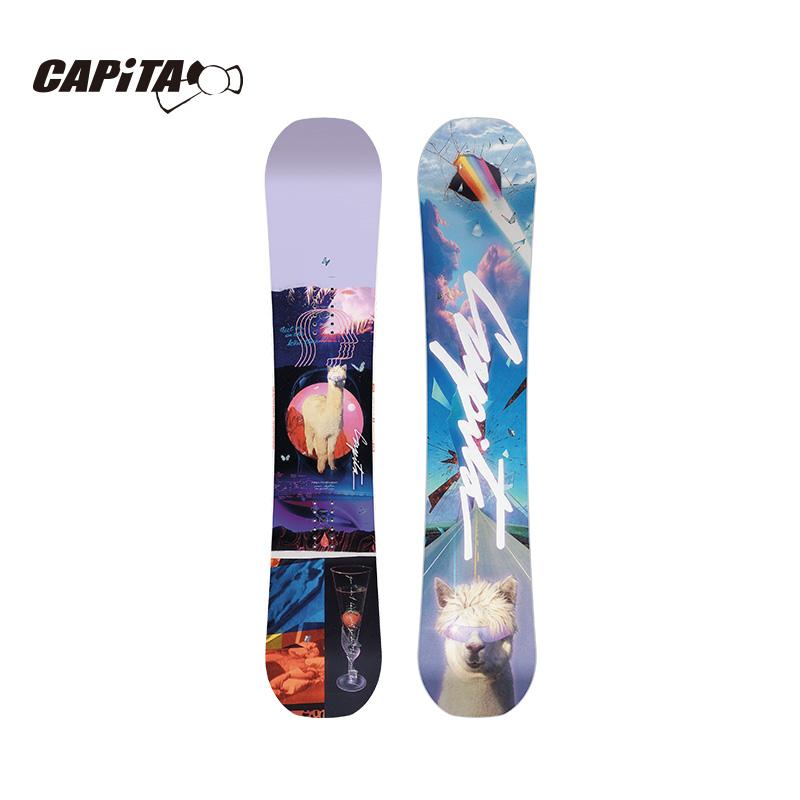 CAPiTA公园款自由式滑雪单板男女款2121新品SPACE METAL FANTASY