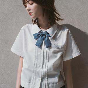 【一尺间】原创 1基础JK 百搭制服短袖衬衫