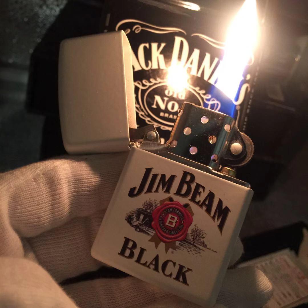 打火机zippo正版威士忌酒标 火机油zoop男士美国正品限量定制zp