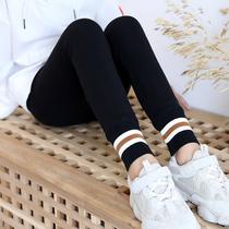女童打底裤冬装加绒加厚外穿儿童裤子秋冬洋气一体绒中厚款保暖裤