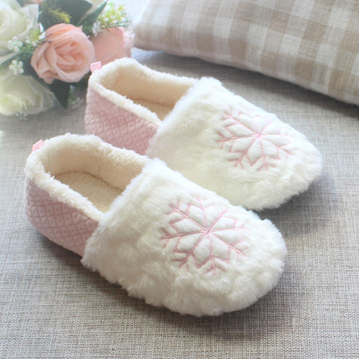 月子鞋秋冬女包跟室内棉拖鞋产后厚底产妇软底春秋季孕妇拖鞋鞋子