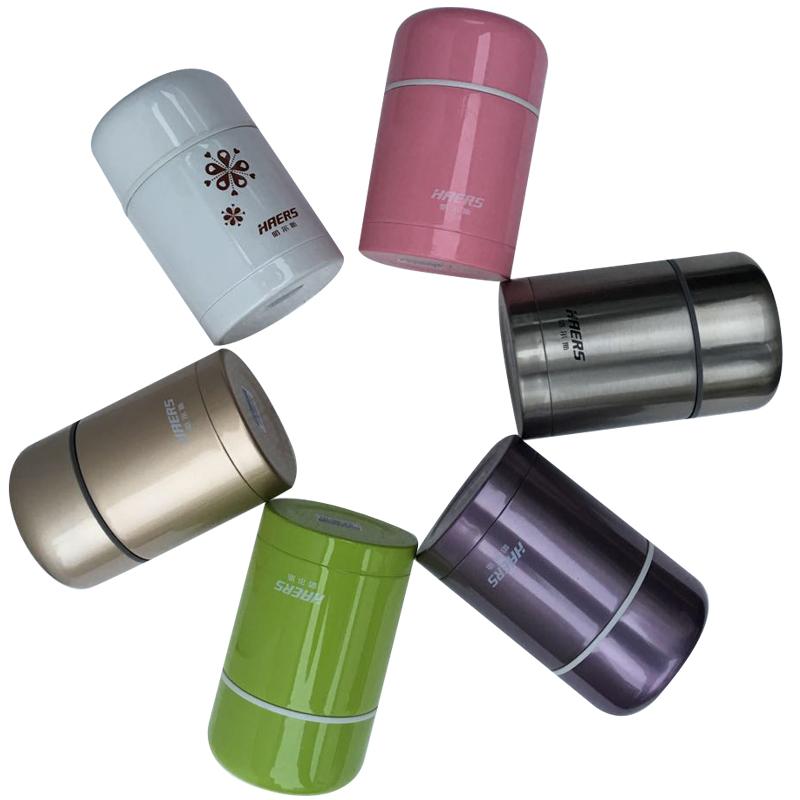 哈爾斯不鏽鋼真空燜燒壺600毫升保溫壺保溫湯盒保冷750 1000毫升