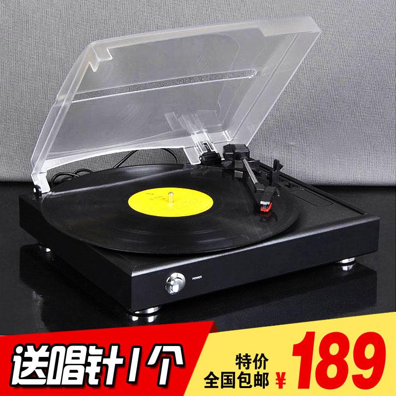 摩范 留声机仿古复古Lp黑胶唱片机老式电唱机PC刻录家用客厅 欧式 - 封面