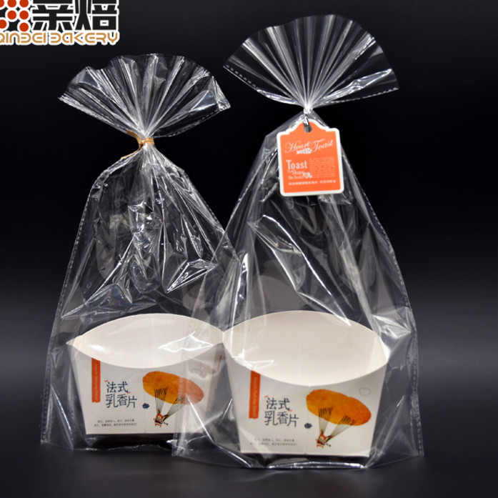 French frankincense piece packing bag frankincense piece dry bread piece packing box bread paper carrier bag 100 sets