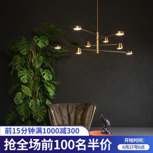 领100元券购买北欧灯具全铜客厅吊灯简约现代大气卧室餐厅吊灯个性创意2019新款