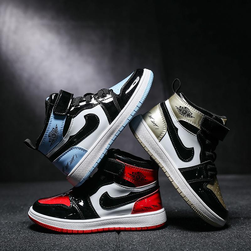 儿童版aj1 2019新款秋款11男童鞋子