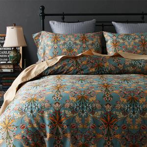 清仓!美式纯棉60支长绒棉四件套全棉被套床单床笠款1.8m床上用品