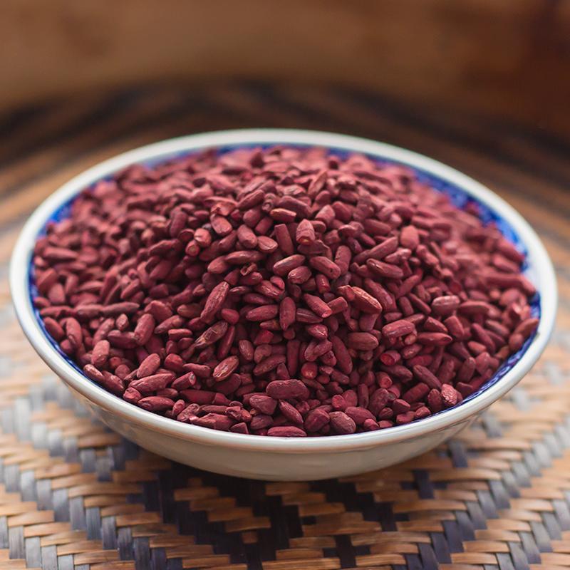 福建古田红曲米红曲可食用色素粉卤味烘焙原料红酒曲500g,可领取1元天猫优惠券