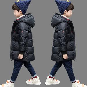 男童羽绒棉服冬装2019新款韩版童装加厚棉袄外套中长款大儿童棉衣