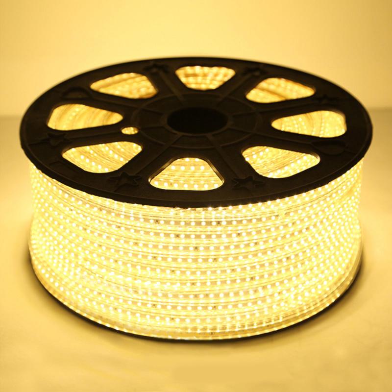 家装主材LED灯带 客厅吊顶软灯条3528超高亮贴片防水光带灯带