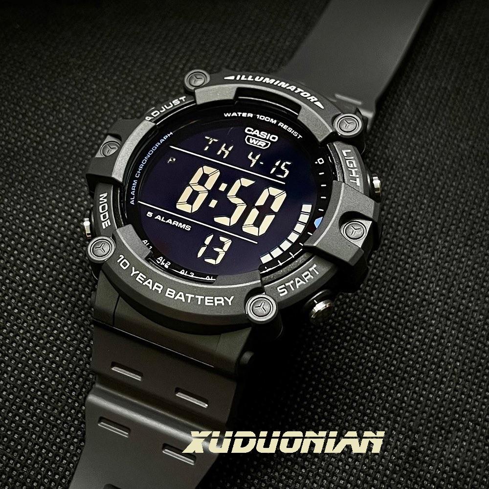 【大屏数显】casio卡西欧手表男 AE-1500WH-8B 电子手表非智能表