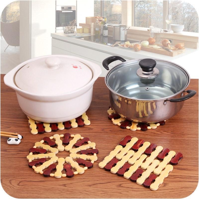 菜墊子隔熱墊餐桌墊杯墊碗防燙鍋墊盤子竹墊家用餐墊防熱耐熱碗墊
