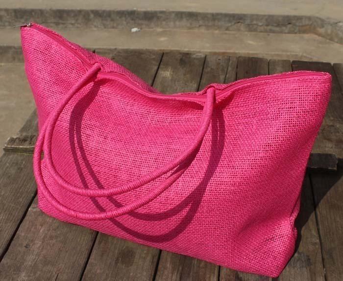 2件包邮特价2020新款优质草包 草编包沙滩包 纸草编织女包 多色