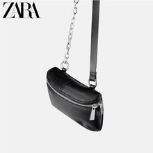 ZARA New TRF Women's Bag JOIN LIFE Black Waist Bag 17650004040