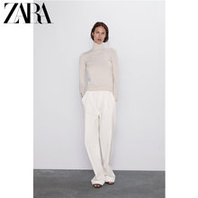 Zara new basic stand collar T-shirt 05646123733