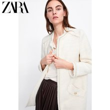 ZARA Spring and Summer New Women's Pocket Decorated Twill Suit Outerwear 08163606712