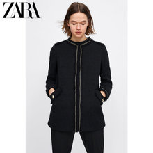 ZARA New Spring and Summer Women's Pocket Decorated Twill Suit Outerwear 08163606800
