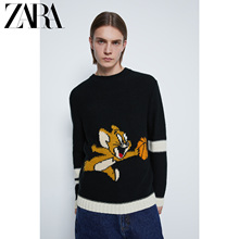 Zara new men's wear & copy; Warner Brothers cat and mouse T-shirt 00048400800