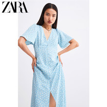 ZARA New TRF Women's Flower Printed Dress 02624476403
