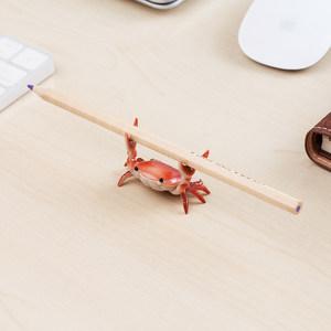 日本龙虾设计ins网红举重螃蟹模型