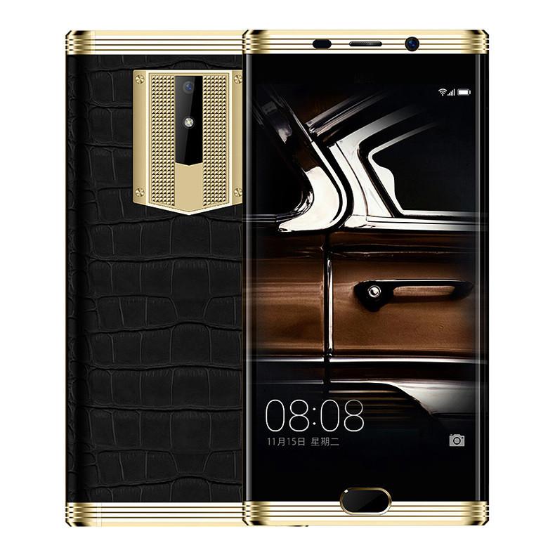 正品八核智能手机5.5曲屏全网通4G大屏老人超长待机奥乐迪奥M2018