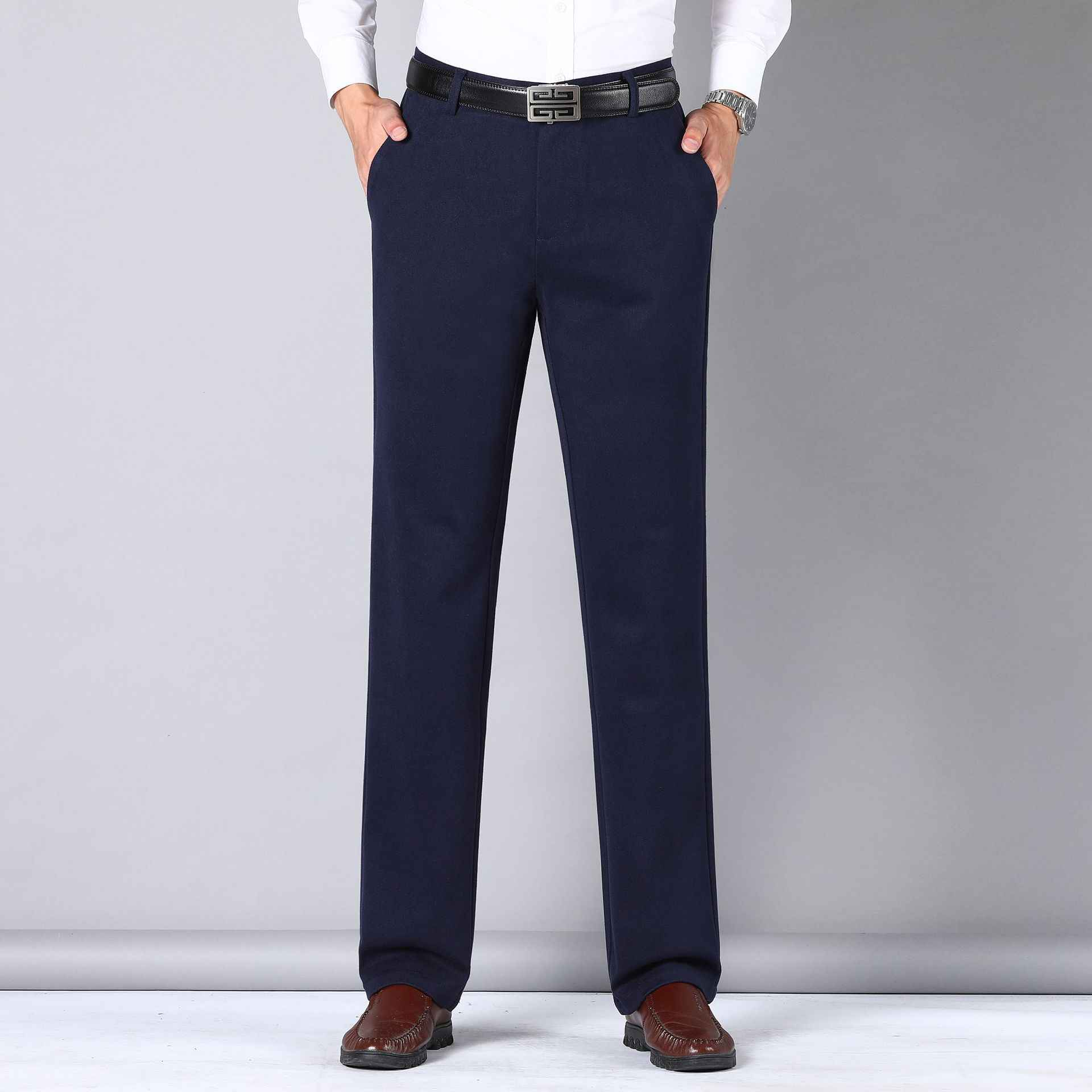 Counter brand 2021 autumn business mens casual pants fashionable and comfortable wool mens pants 987
