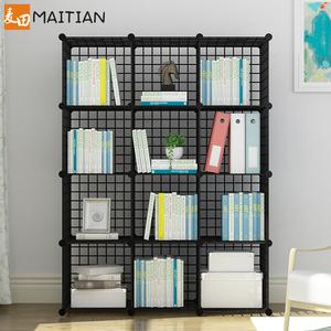 书架置物架家用学生儿童桌上收纳小柜子简约现代客厅落地简易书柜