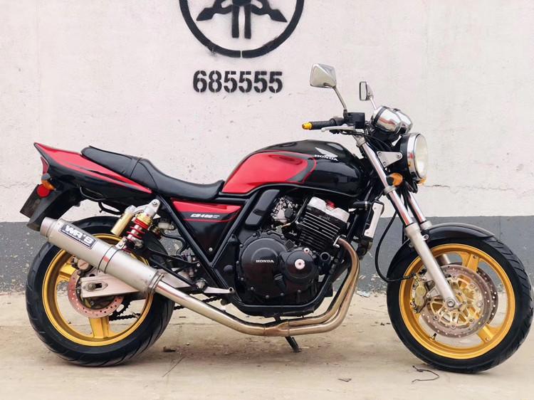 二手本田cb400cc摩托车250cc小黄蜂街车cbr600大排量四缸趴赛跑车