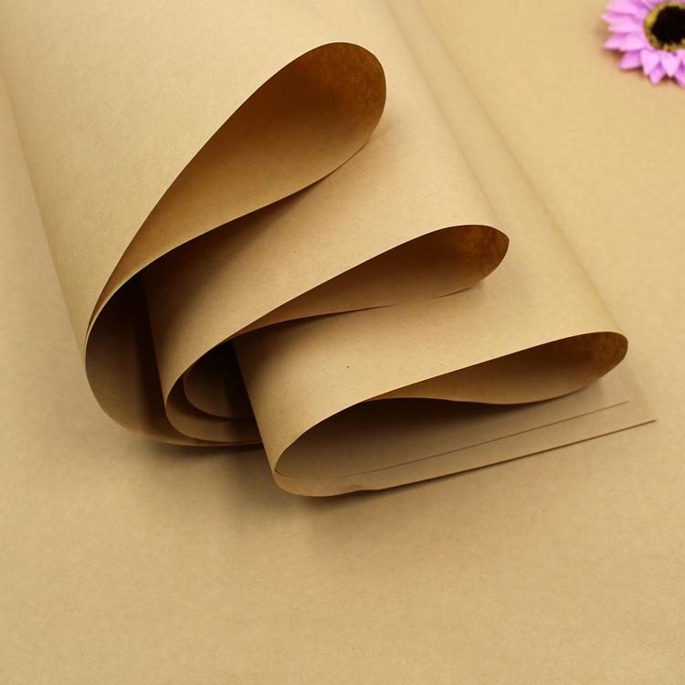 20 чжан крафт высококачественный цветы пакет бумага цветок магазин статьи пакет наклейка материал партия