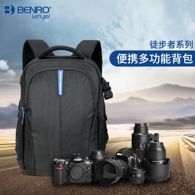 百诺徒步者系列单反背包专业双肩摄影相机包便携多功能背包