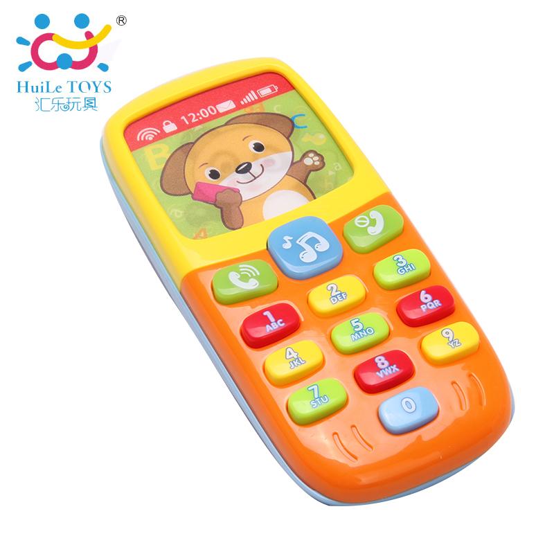 彙樂嬰兒智能音樂手機兒童寶寶早教益智電話機小孩玩具0~1~3歲