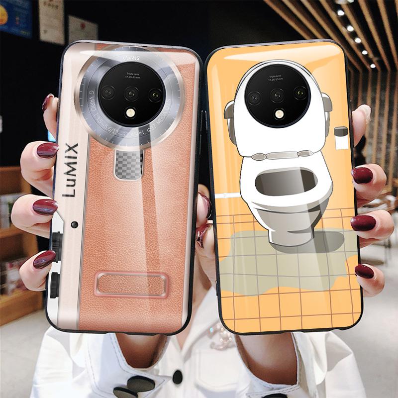 10月13日最新优惠一加7t手机壳创意相机1+7t