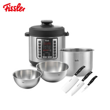 German Fissler Fissler Set Multifunctional Electric Pressure Cooker Stainless Steel Fruit and Vegetable Basket Exquisite Tool Set