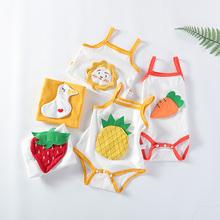 婴儿三角哈衣吊带夏季装婴儿连体衣