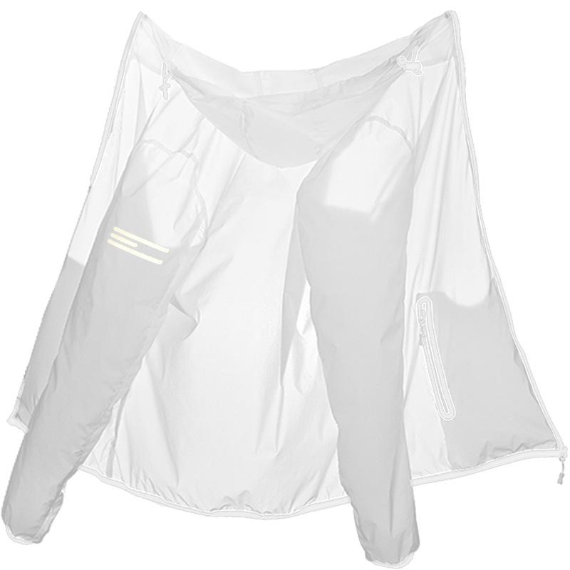 大码防晒服男士冰丝超薄透气夏季运动皮肤衣200斤纯白色女防嗮衫