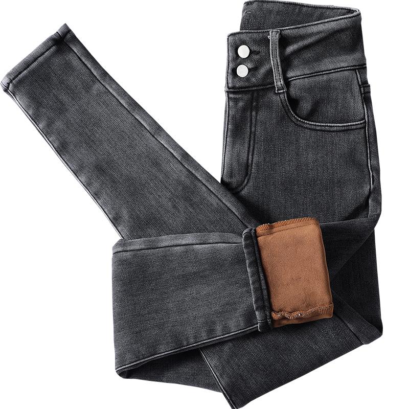 烟灰色女夏2021年春秋装小脚裤子使用评测分享