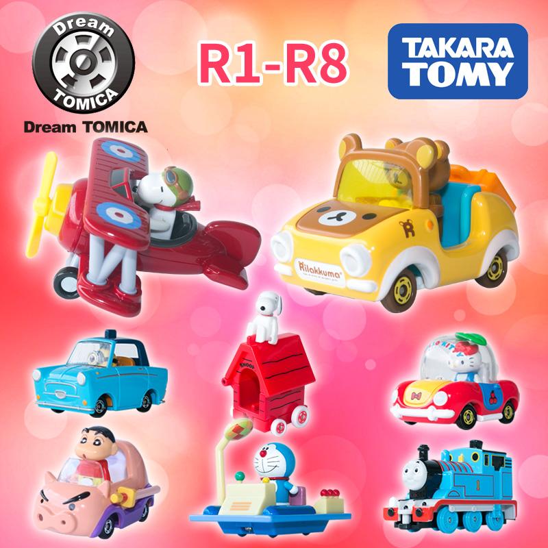 多美卡TOMICA卡通合金玩具小车模型 小黄人凯蒂猫轻松熊蜡笔小新