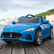 Maserati Children's Electric Vehicle Four-wheel Four-wheel-drive Children's Baby Super Large Toy Vehicle with Remote Control