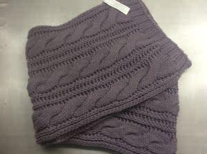 428特价经典粗毛线厚实保暖*围巾