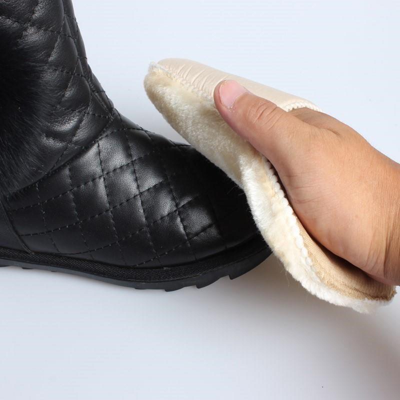 Shoe polish cloth glove type shoe polish wet towel suede reverse side suede shoes shoe polish cloth polishing towel